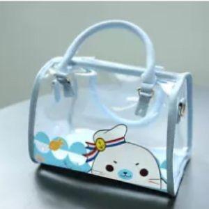 Handbags - Cute transparent kawaii harajuku bag and wristlet
